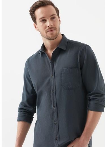 Mavi Erkek   Gömlek 021696-32167 Gri
